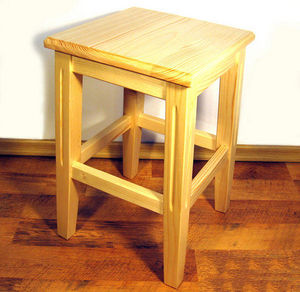 ECHOS Furniture - pratique - naturel - Tabouret