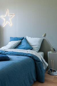 Couleur Chanvre - _couleurs bleu du sud et biarritz l'été - Housse De Couette