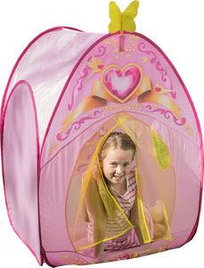 Traditional Garden Games - tente de jeu princesse love 85x85x115cm - Tente Enfant
