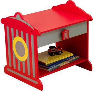 KidKraft - table de nuit pompier - Chevet Enfant
