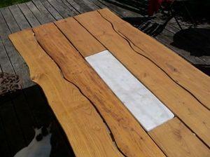 ALAIN DUPASQUIER -  - Table De Repas Rectangulaire