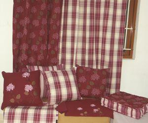 ITI  - Indian Textile Innovation - winter plaids - Housse De Coussin