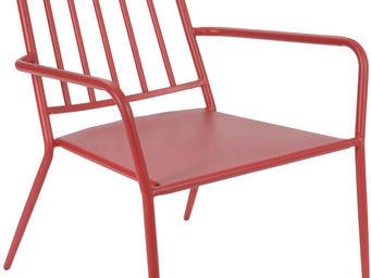 Amadeus - fauteuil epoxy camille rouge - Fauteuil