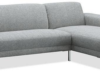 Delorm design - canapé d'angle marilyn lightgrey - Canapé Modulable