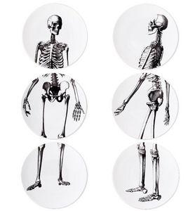 ANIMAL FABULEUX - memento mori - Assiette Plate