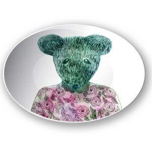 la Magie dans l'Image - assiette ma petite souris - Assiette De Présentation