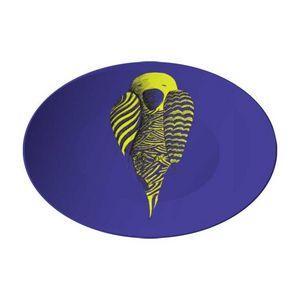 la Magie dans l'Image - assiette perroquet bleu - Assiette De Présentation