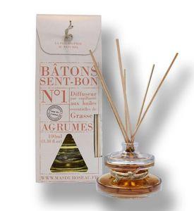 MAS DU ROSEAU - parfum d'ambiance agrumes - Bâtonnets D'encens