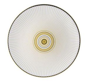 ROYAL CROWN DERBY - oscillate ochre-- - Assiette Plate