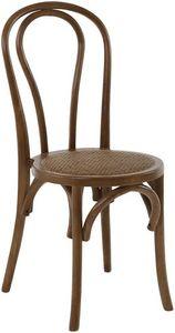 INWOOD - chaise bistrot en bois d'orme (lot de 2) modèle 3 - Chaise
