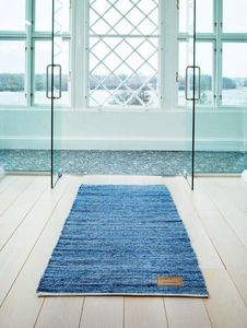 RUG SOLID - jeans rug, jeans-- - Tapis Contemporain