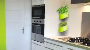 GREEN TURN -  - Jardinière Murale