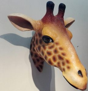 Tex-Artes - trophee girafe - Sculpture Animalière