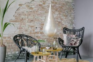 Zenza Home - paradise butterfly - Chaise Visiteur
