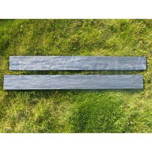 CLASSGARDEN - bordure piquet d'ardoise scie 0.5 mètre - Bordure De Jardin
