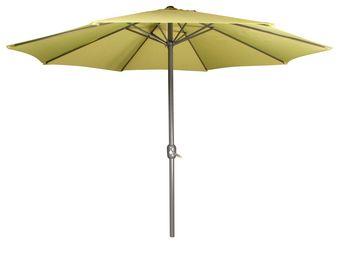 CEMONJARDIN - parasol droit vert anis - Parasol Télescopique