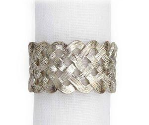 L'OBJET - braid napkin jewels - Rond De Serviette