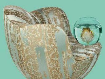 RUBELLI - cordoba acqua - Tissu D'ameublement Pour Siège