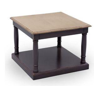 Marie France - géranium - Table Basse Carrée