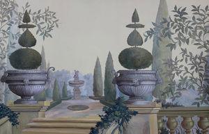 Ananbô - les jardins de montesino couleur - Papier Peint