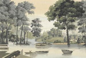 Ananbô - annam couleur - Papier Peint Panoramique