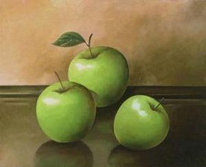 Brookpace Fine Art - three apples - Photographie