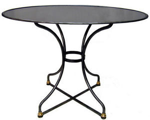 Jardinieres & Interieurs - guéridon oval - Table D'appoint