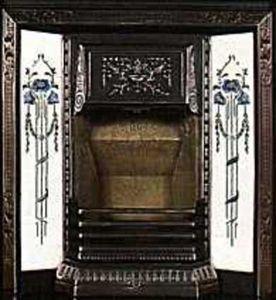 The Edwardian Fireplace -  - Manteau De Cheminée