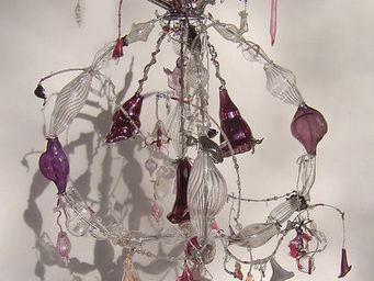 Diane Casteja - cage prune - Lustre