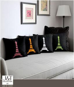 j&t collection - jtc-paris-b - Coussin Carré