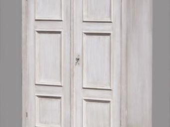 Lawrens - biblioth�que en ch�ne panneaux coulissants - Armoire Ling�re