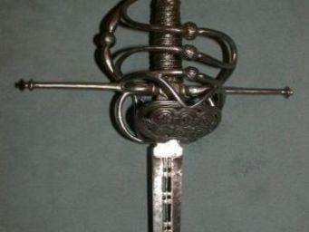 Patrice Reboul - belle épée multibranche  - Epée