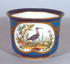 Jean Lupu - sevres porcelain mortar - Mortier