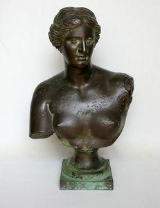 Bauermeister Antiquités - Expertise - buste de la vénus de milo, xixème - Buste