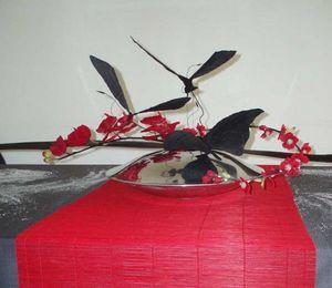 L'éphémère - métal design - Composition Florale