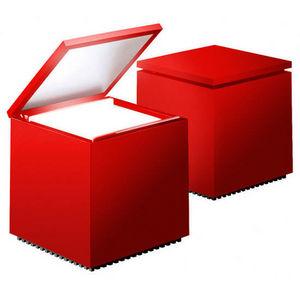CINI & NILS - cuboluce rosso - Lampe À Poser