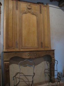 Catherine Fleuraux Materiaux Anciens -  - Chemin�e � Foyer Ouvert