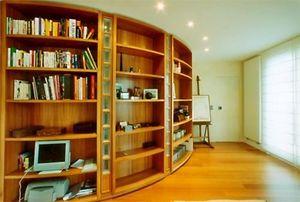 PATRICK LEGHIMA - bibliotheque - Réalisation D'architecte D'intérieur