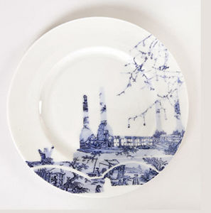 Snowden Flood -  - Assiette Plate