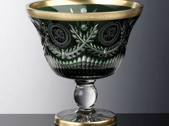 Cristallerie de Montbronn - pompadour - Coupe Décorative