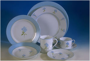 Odile Pantz - turquoise - Service De Table