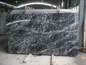 Nature-marbre - black marquina - Cabine De Douche