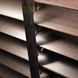 Thomas Sanderson - wooden venetian blinds - overview - Store Vénitien