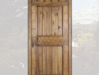 Portes Anciennes - la bergerie - Porte D'entrée Pleine
