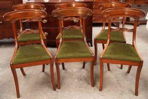 ANTICUARIUM - english regency - Chaise