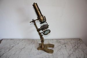 ANTIQUITES LE SAINT GEORGES - microscope dellebarre - Microscope