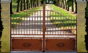 Cadiou - trégunc - Portail De Jardin