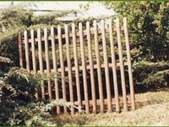 Clotures Pellion -  - Cl�ture Ajour�e