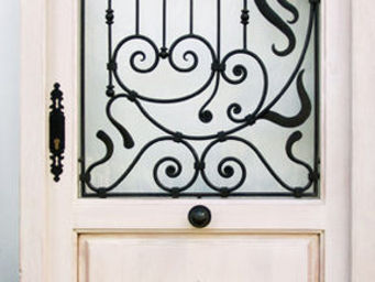 Decoración Andalusí -  - Porte De Communication Vitr�e