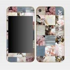 JOHANNA L COLLAGES - skins iphone 4 - Coque De Téléphone Portable